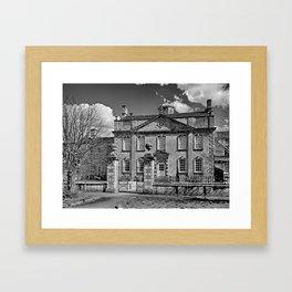 Harrington House. B&W Framed Art Print