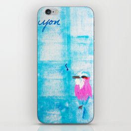 Whistle While You Work iPhone Skin