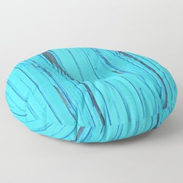 small abstract colored pattern with fine structure Floor Pillow