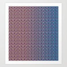Purple Skin Art Print