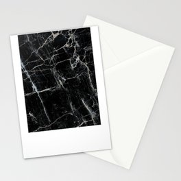 Black Marble Stationery Cards