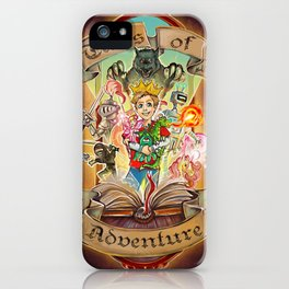 Tales of Adventure iPhone Case
