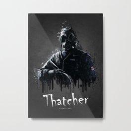 Thatcher Metal Print