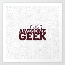 Geek Art Print
