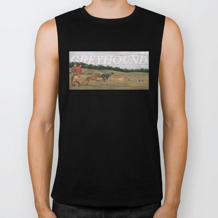 Greyhound Biker Tank