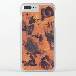 Abstraction pattern Clear iPhone Case