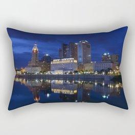 City reflections Columbus Ohio Rectangular Pillow