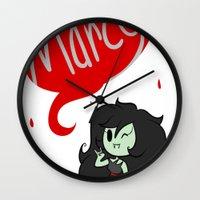 marceline Wall Clocks featuring Marceline by dartty