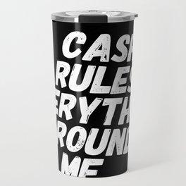 Cash Rules CREAM Travel Mug
