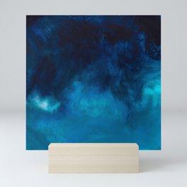 Drift Water Ocean Art Piece Print Mini Art Print