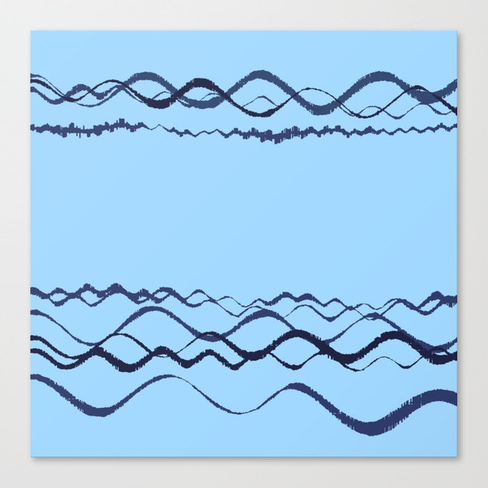 1380249359 in blue Canvas Print