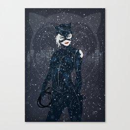 ME-OW. Catwoman Returns Canvas Print