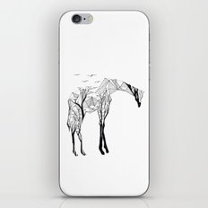 Camelopardalis iPhone Skin