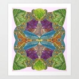 Nature's Matrix Art Print