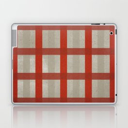 Holiday Cozy Red Plaid Laptop & iPad Skin