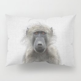 Baboon - Colorful Pillow Sham