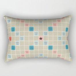 Scrabble Rectangular Pillow