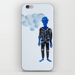 Get out / Come back iPhone Skin