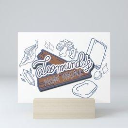 Leomund's secure schelter Mini Art Print