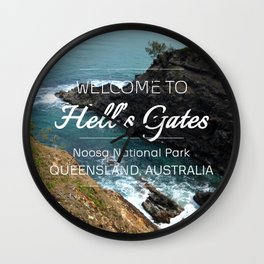 Hell's Gates, Australia Wall Clock