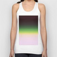 ombre Tank Tops featuring Forest Ombre by PureVintageLove