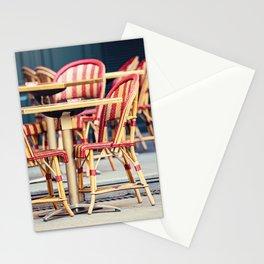 Paris Cafe - Paris, France Stationery Cards