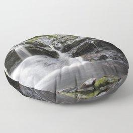 Blaen-y-glyn Waterfall 2 Floor Pillow