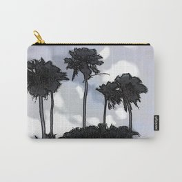 Palmiers blues - Palmetto blues Carry-All Pouch
