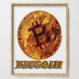 Bitcoin Serving Tray