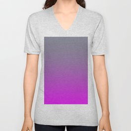 GET LOST - Minimal Plain Soft Mood Color Blend Prints Unisex V-Neck