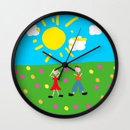 Kiddy Doodle Dandy Wall Clock