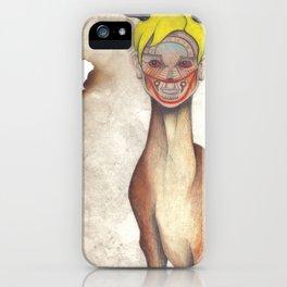Deer Child iPhone Case