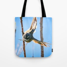 Fantail Fly Tote Bag