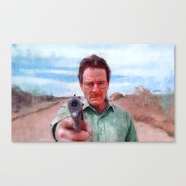 Walter White Confession - Breaking Bad Canvas Print
