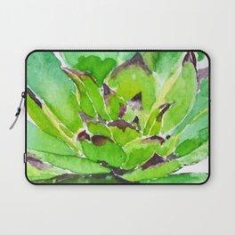 green succulent 3 Laptop Sleeve