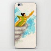 samurai iPhone & iPod Skins featuring Samurai by Reg Lapid