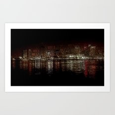 nola ferry view 2 Art Print
