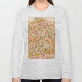"Alphonse Mucha ""Convolvulus"" Long Sleeve T-shirt"