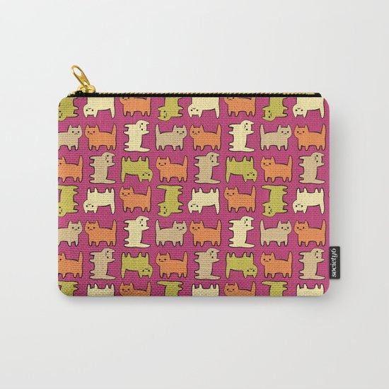 Cartoon Kitties Carry-All Pouch