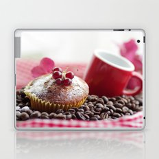 Red Design, sweet Muffins to delicious Coffee Laptop & iPad Skin