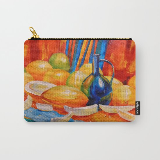 Still life with melon Carry-All Pouch