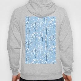 Winter forest doodles Hoody