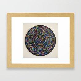 10,000 Stitches Framed Art Print