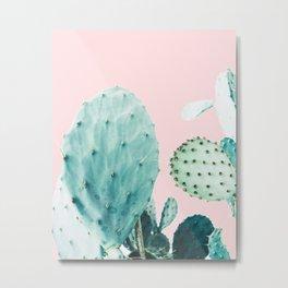 Cacti, Cactus print, Plant print, Trendy print Metal Print