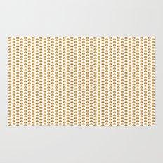 Hamburger pattern Rug