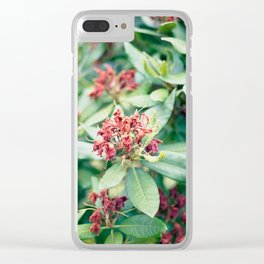 wilted Clear iPhone Case