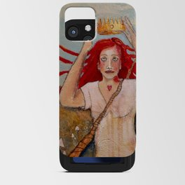 Crowning Herself iPhone Card Case