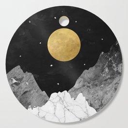 Moon and Stars Cutting Board