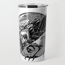 Noisy raven Travel Mug