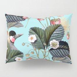 Strawberry Brush Hide-Out #society6 #decor #buyart Pillow Sham